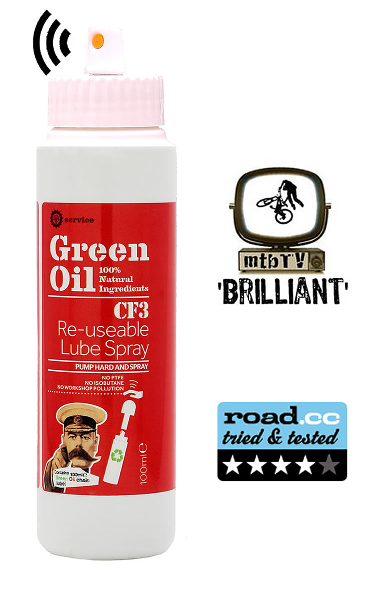 CF3 Re-usable lube spray