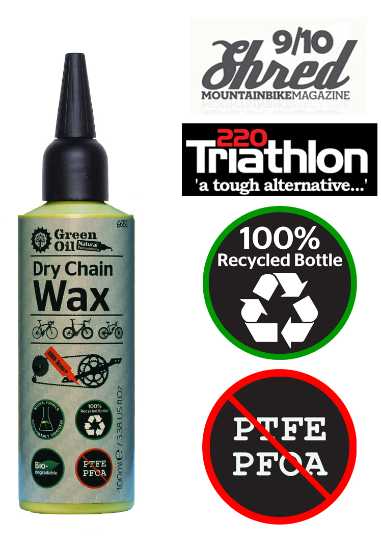 Green Oil Dry Chain Wax